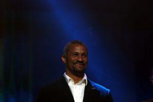 Didier Dinart sur scène lors de la 20ème Nuit des Étoiles