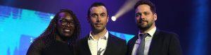 Vincent Philippe reçoit son trophée de la Nuit des Étoiles 2017