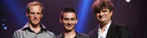Thomas Chareyre reçoit le trophée de l'exploit de l'année 2016 de la Nuit des Étoiles 2017