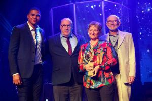 Les parents d'Anaïs Bescond à la Nuit des Étoiles 2019